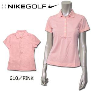 ナイキ NIKE GOLF SSトップス 412037 DRI-FIT テックピケ  ゴルフ レディース 半袖 ポロシャツ シンプル STAY COOL 機能性 吸汗|birigo