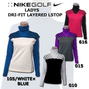 NIKE GOLF LADYS 427113 LSトップスナイキ ゴルフ レディース レイヤードDRI-FIT ベスト ロングスリーブ セットゴルフウェア ランニング スポーツウ|birigo