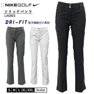 NIKE GOLF(ナイキ ゴルフ) レディース ソリッドパンツ  【カラー】 010/ブラック 0...