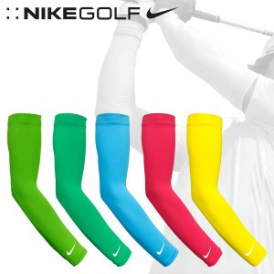 ナイキ ゴルフ メンズ レディース アーム スリーブ NIKE GOLF 445423 ユニセックス DRI-FIT ソーラースリーブス 2点セット 両腕用|birigo
