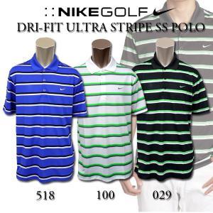 ナイキ ゴルフ ポロシャツ メンズ NIKE GOLF 523661 半袖 ポロ ボーダー|birigo