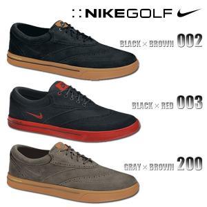 ナイキ ゴルフ シューズ メンズ スエード NIKE GOLF MENS 533094 ルナ スウィングティップ スパイクレス ナイキ ゴルフ シューズ メンズ ナイキ ゴルフ シューズ|birigo