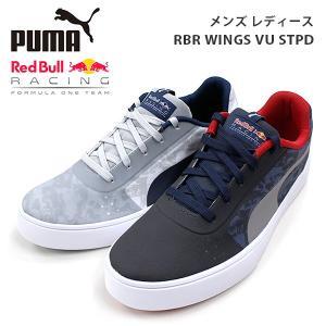 プーマ モータースポーツ メンズ レディース スニーカー シューズ PUMA 305748 RBR WINGS VU STPD RedBull レッドブル|birigo