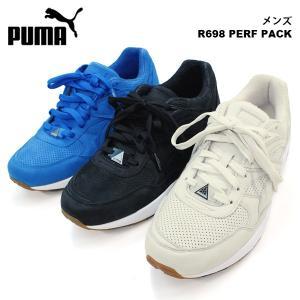 プーマ カジュアル メンズ スニーカー シューズ PUMA 359314 R698 PERF PACK TRINOMIC トライノミック|birigo