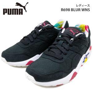 プーマ レディース シューズ PUMA 360578 R698 BLUR WNS ブラー トライノミック スニーカー ブラック ランニング birigo