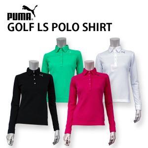 プーマ ゴルフ レディース 長袖 ポロシャツ ウィメンズ PUMA LADYS  トップス 902580 鹿の子 ゴルフウエア スポーツ 女性 高級感 おしゃれ 婦人 birigo