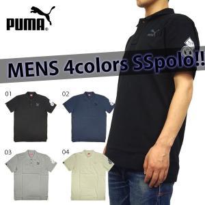 プーマ メンズ ポロシャツ PUMA MENS 902836  ワンポイント ポロ birigo
