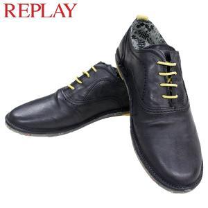 リプレイ メンズ カジュアル 革靴 REPLAY GMC26 003 シューズ|birigo