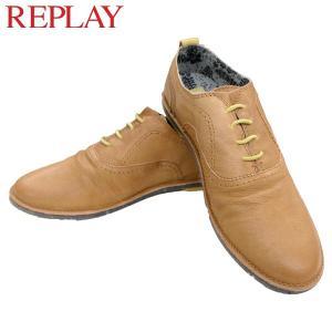リプレイ メンズ カジュアル 革靴 REPLAY GMC26 241 シューズ|birigo