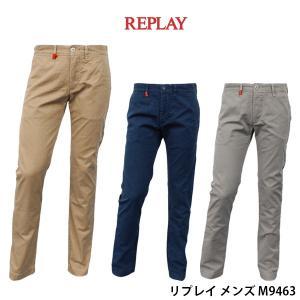リプレイ メンズ カジュアル ロング パンツ REPLAY M9463 チノパン|birigo