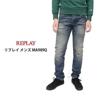 リプレイ メンズ ジーパン ジーンズ REPLAY MA989Q デニム パンツ|birigo
