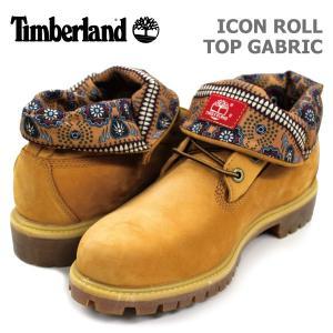 ティンバーランド メンズ カジュアル シューズ Timberland 6826A ICON ROLL TOP FABRIC アイコン ロール トップ ファブリック birigo