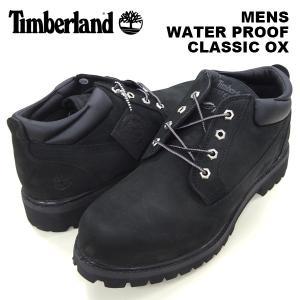 ティンバーランド メンズ シューズ Timberland 73537 WATER PROOF CLASSIC OX BLACK ウォータープルーフ クラシック オックス ブラック birigo