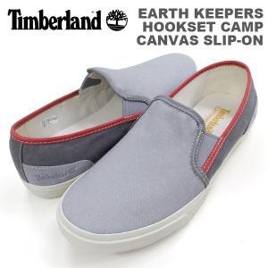 ティンバーランド メンズ カジュアル シューズ Timberland 9826A アースキーパーズ フックセットキャンプ キャンバス スリッポン EARTHKEEPERS HOOKSET CAMP CAN birigo
