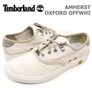 ティンバーランド レディース カジュアル シューズ Timberland A15PD AMHERST OXFORD OFF WHI アムハースト オックスフォード オフホワイト|birigo