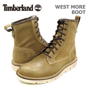 ティンバーランド メンズ カジュアル シューズ Timberland A186V WEST MORE BOOT ウェスト モア ブーツ|birigo