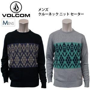 ボルコム メンズ ニット コットン セーター VOLCOM A0731455 クルーネック セーター|birigo