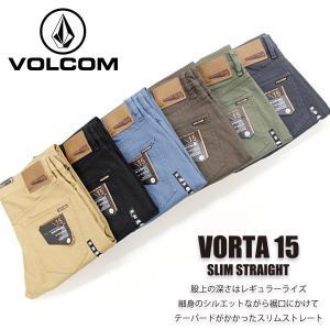ボルコム カジュアル メンズ ボトムス VOLCOM A1131505 VORTA 15 SLIM STRAIGHT スリム ストレート CHINO|birigo