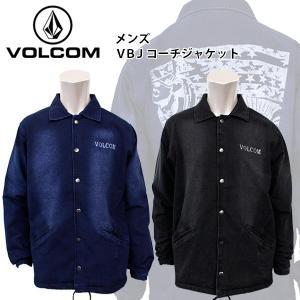 ボルコム メンズ デニム コーチ ジャケット アウター 日本限定モデル VOLCOM A16114JE VBJ コーチジャケット|birigo