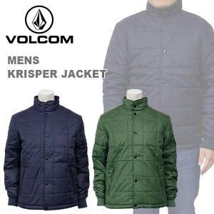 ボルコム カジュアル メンズ 中綿 ミリタリー ジャケット ダウン VOLCOM A1631404 KRISPER JACKET birigo