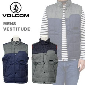 ボルコム カジュアル メンズ ダウン ベスト ジャケット VOLCOM A1831400 VESTITUDE|birigo