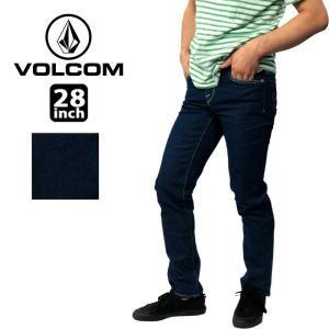 ボルコム カジュアル メンズ デニム ボトムス VOLCOM A1931503 SOLVER DENIM 16 レギュラー ストレート ジーンズ パンツ|birigo