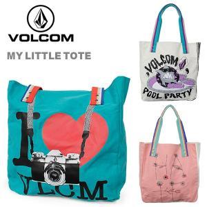 ボルコム カジュアル キャンバス トート バッグ 鞄 VOLCOM E6511412 MY LITTLE TOTE|birigo
