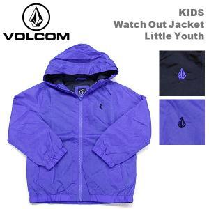 ボルコム カジュアル キッズ ナイロン ジャケット VOLCOM Y1531401 Watch Out Jacket Little Youth ウインドブレーカー|birigo