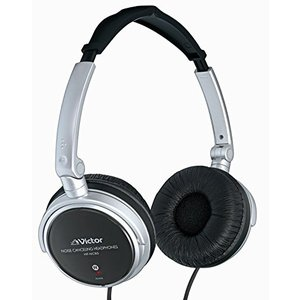 JVC Victor Noise Canceling foldable Headphones | H...