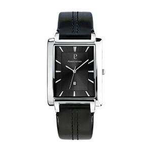 Pierre Lannier 210D133?Mens Quartz Analog Watch with Leather Strap???Black 並行輸入品 birmingham-ex