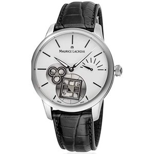 Maurice Lacroix Masterpiece Square Wheel MP7158-SS001-101-1 Automatic Mens Watch 並行輸入品|birmingham-ex