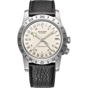 Glycine Airman Mens Analogue Automatic Watch with Leather Bracelet GL0160 並行輸入品 birmingham-ex