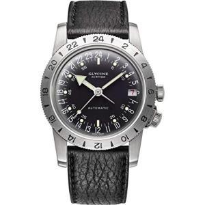 Glycine Airman Mens Analogue Automatic Watch with Leather Bracelet GL0159 並行輸入品 birmingham-ex