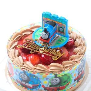バースデーケーキ スイーツ  お誕生日ケーキ きかんしゃトーマス キャラデコケーキ(紙風船プレゼント)|birthdaycakes2004