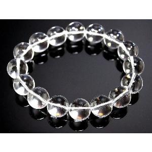 ポイント10倍 オラオラ系 数珠ブレスレット ブレス 極太14mm 水晶|birthjapan