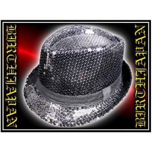 ポイント10倍 帽子14黒 &ホストお兄系 スパンコールハット ギャルオ サーフ 悪羅悪羅系|birthjapan