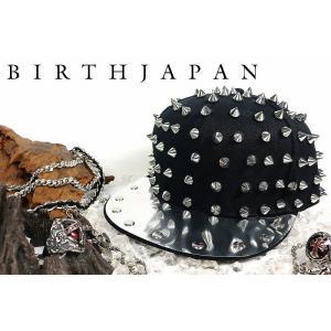ポイント10倍 帽子77黒-銀 トゲトゲスタッズキャップ メンズMen's悪羅悪羅系 オラオラ系 ヤクザ ヤンキー 派手 チンピラ ホストお兄系ギャルオ|birthjapan