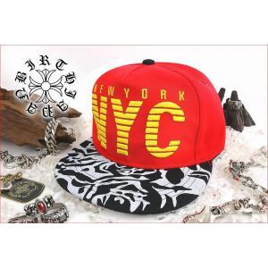 ポイント10倍 帽子94赤 ロゴ刺繍キャップ 悪羅悪羅系 オラオラ系 ヤンキー 派手 チンピラ ヤクザ 派手B系HIPHOP NYC|birthjapan