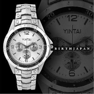 ポイント10倍 123196銀 ブランド風腕時計 小物メンズウォッチ オラオラ系 ホストお兄系 ヤクザ 悪羅悪羅系|birthjapan