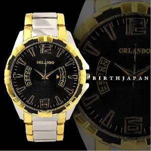 ポイント10倍 151972黒 ブランド風腕時計 小物メンズウォッチ オラオラ系 ホストお兄系 ヤクザ 悪羅悪羅系|birthjapan