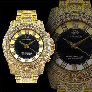 送料無料&ポイント10倍 1年間保証付 ソーラー電波 クロノグラフ腕時計006金 自動巻き手巻き防水メンズ腕時計Men's紳士 ヤクザ 悪羅悪羅系 オラオラ系|birthjapan