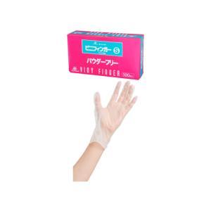エバーメイトビニフィンガー パウダーフリー 使い捨て手袋|bisaronet