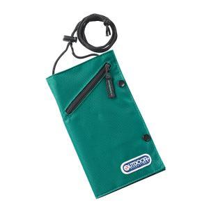 OUTDOOR ネックポーチ (アウトドア 貴重品入れ セキュリティ パスポートケース )|bisho