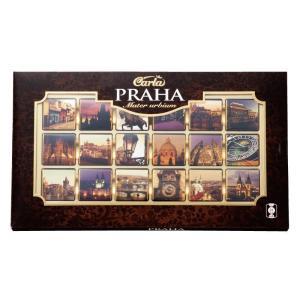 プラハ城などの観光名所をアソートしました。 70%ダークチョコレートの大人の味わいです。 世界遺産「...