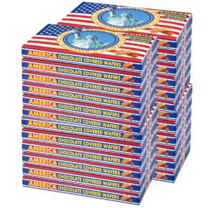 アメリカ チョコウエハース 24箱セット (袋付) アメリカお土産 アメリカおすすめ bisho