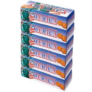 アメリカ チョコチップクッキー 6箱セット (袋付) アメリカクッキー ザクザククッキー bisho