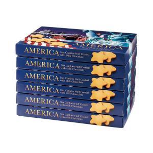 アメリカ スター チョコクッキー 6箱セット アメリカ新商品 星型クッキー bisho
