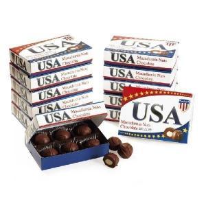 アメリカ ミニ マカデミアナッツチョコレート 12箱セット アメリカ土産 アメリカチョコ bisho