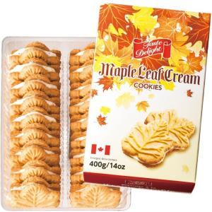 カナダ メープルクリーム クッキー  カナダ土産 カナダ人気 メープル菓子 |bisho