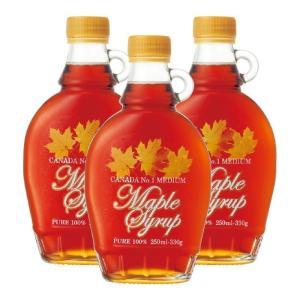 カナダ ピュア メープルシロップ 3瓶セット カナダみやげ カナダおすすめ|bisho